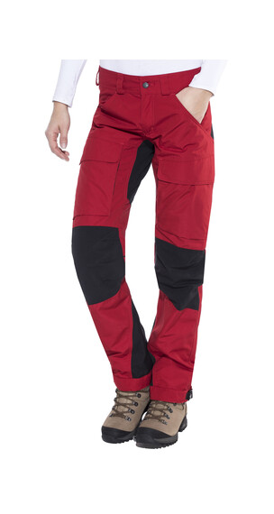 Lundhags Authentic lange broek Dames rood